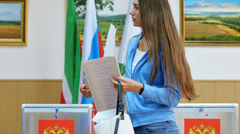Most Russians oppose compulsory voting, poll shows