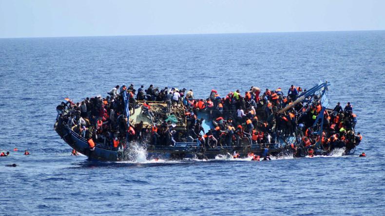 Up to 240 migrants drown in 2 shipwrecks off Libya coast