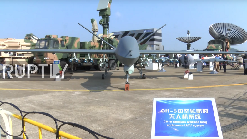 China presents new killer drone 'more efficient & powerful' than American Reaper (VIDEO)