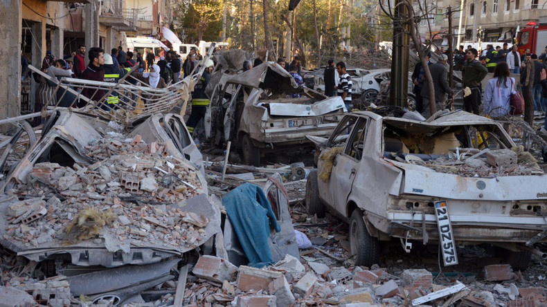 8 killed, 100+ injured as blast rocks Turkey's Kurdish southeast