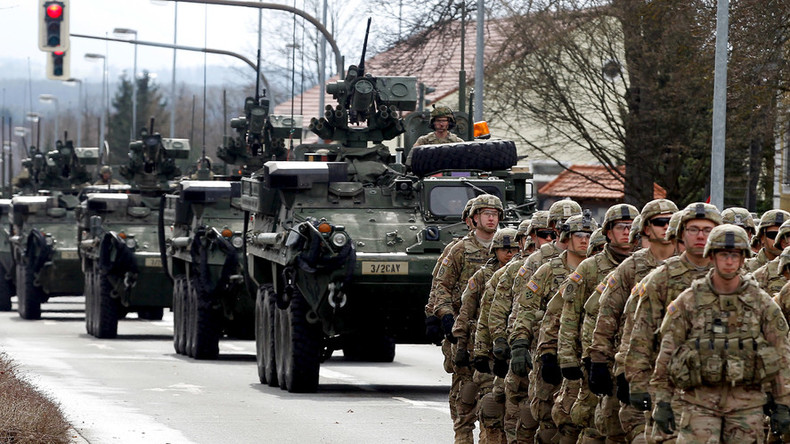 US to send tanks, helicopters & 6,000 troops to join 1st E. Europe armored brigade deployment
