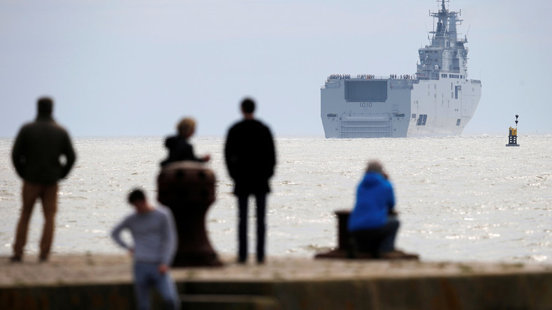 Poland's claim that Egypt sold Mistral warships to Russia for €1 outrages France