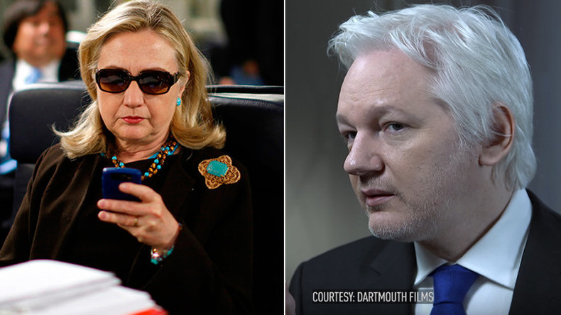 Assange: Clinton resisted FBI, and now they're out for payback (JOHN PILGER EXCLUSIVE)