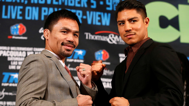 Pacquiao 'fighting for history' against Vargas