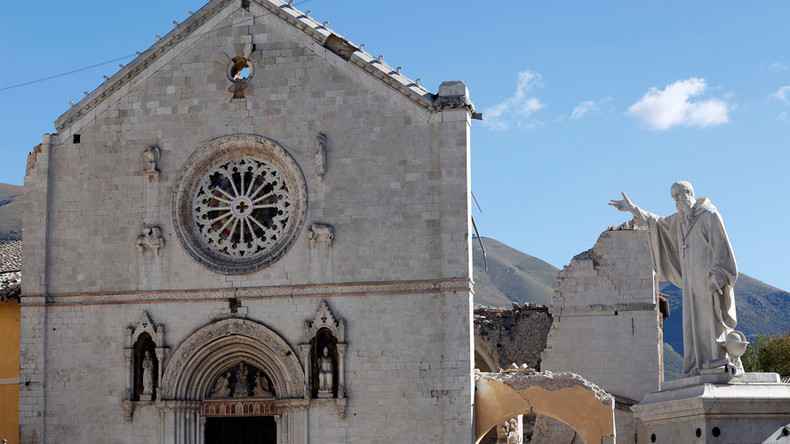 Priest blames Italy quakes on gay civil unions, undeterred by Vatican's scolding