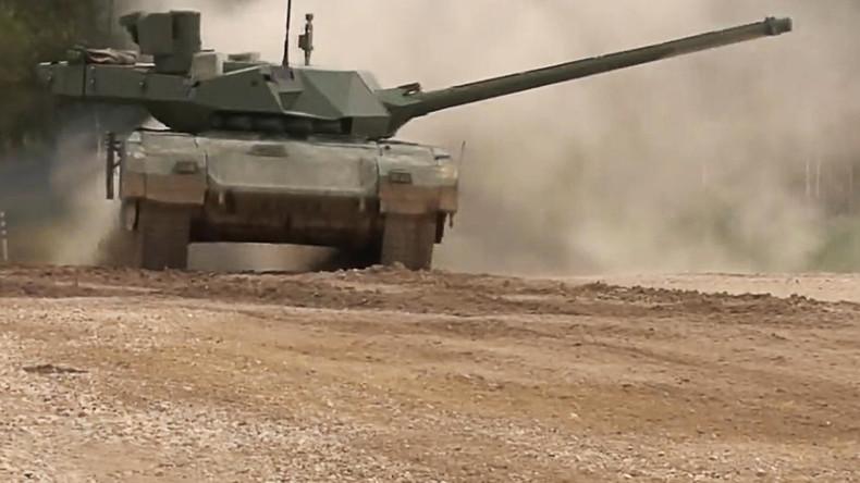 UK military threatened & amazed by Russia's 'revolutionary' Armata tank – leak
