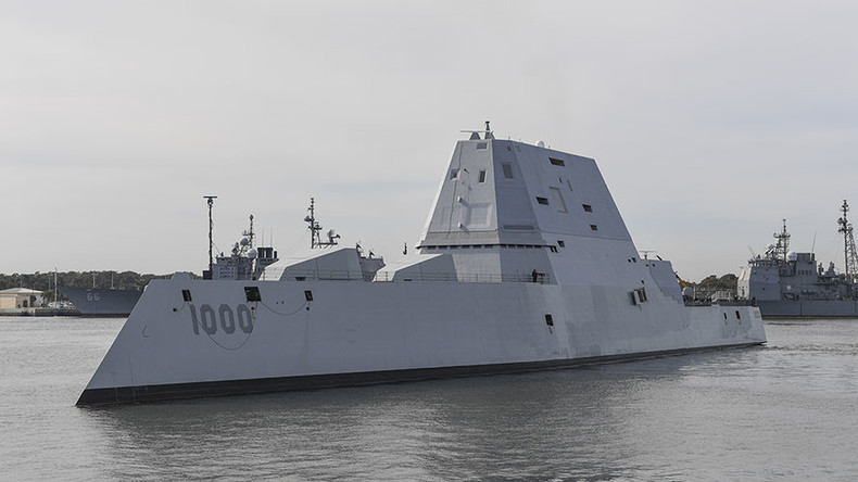 US Navy to cancel newest warship ammunition costing $800,000 per round - report