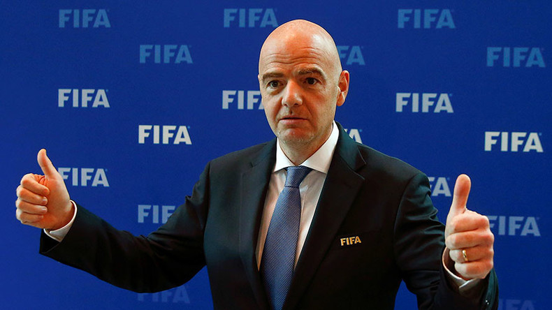 FIFA president to visit Russia for 2017 Confederations Cup draw in November