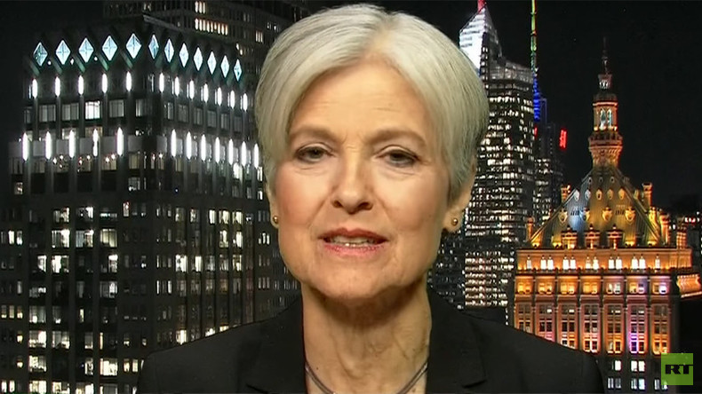 'Loose cannon' Trump and 'war drums' Clinton: Dr. Jill Stein on RT (VIDEO)