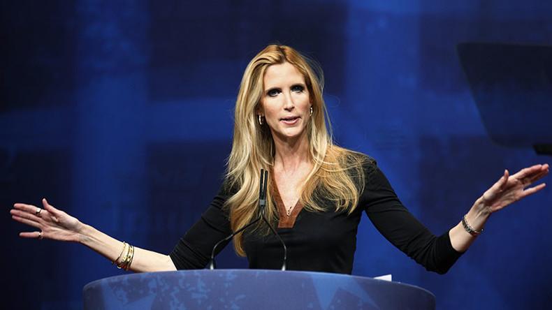 Conservative commentator Ann Coulter trolled over Trump 'landslide' claim