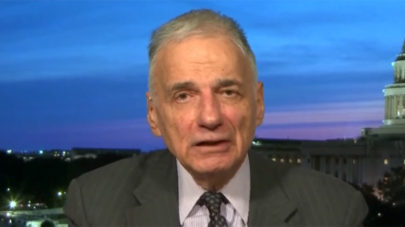 'It ought to be a crime': Ralph Nader slams 'two-party tyranny' on RT (VIDEO)