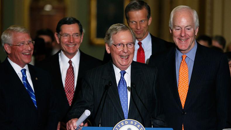 Republicans maintain US Senate majority