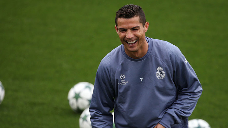 Ronaldo celebrates signing $1bn Nike deal with training camp in Portugal