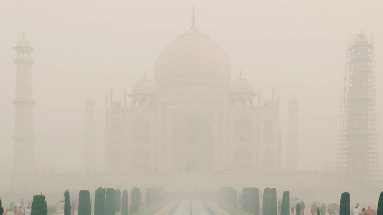 Smog smothering India's cities spotted from space (PHOTOS)