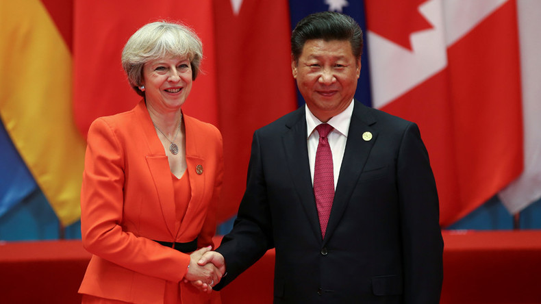 May's post-Brexit Beijing cash grab sees pledge of 'golden era' of Chinese investment