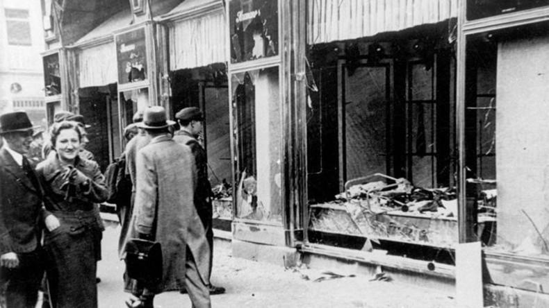 German neo-Nazis list Berlin's Jewish sites on anniversary of 1938 Kristallnacht pogroms