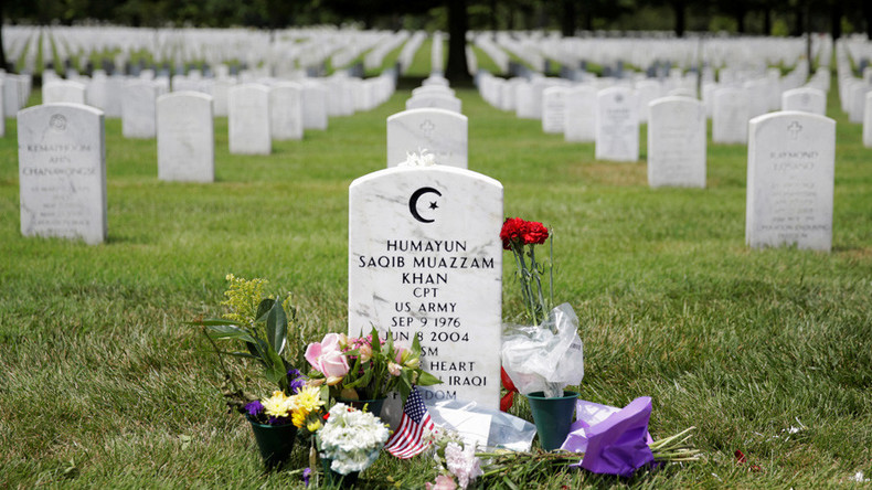 Capt Khan ballot tribute: Orthodox Jew dedicates vote to US Muslim soldier (PHOTO)