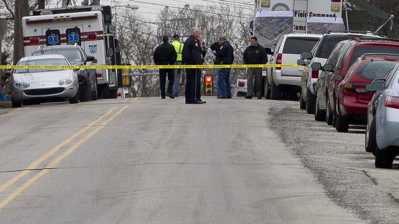 6 stabbed at Pennsylvania mental health facility, suspect shot