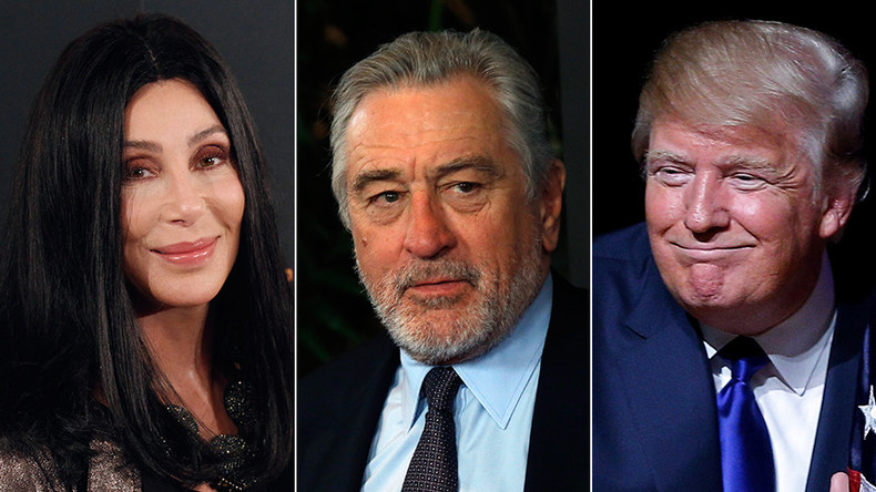 Should the anti-Trump celebs who vowed to leave the US if he won now move? (POLL)