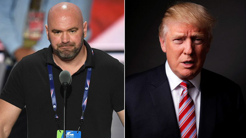 Dana White confirms Trump won't attend UFC 205