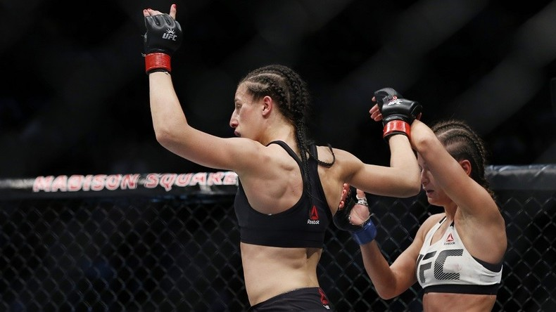 Jedrzejczyk retains UFC strawweight title in 'Polish clash' against Kowalkiewicz