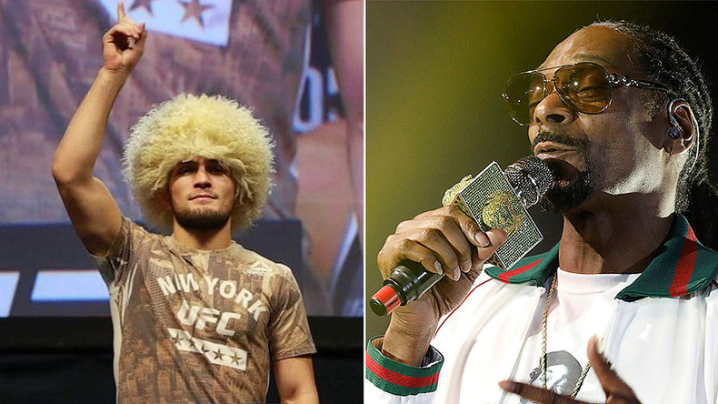 Snoop Dogg backs Russian UFC fighter Khabib Nurmagomedov to beat Conor McGregor