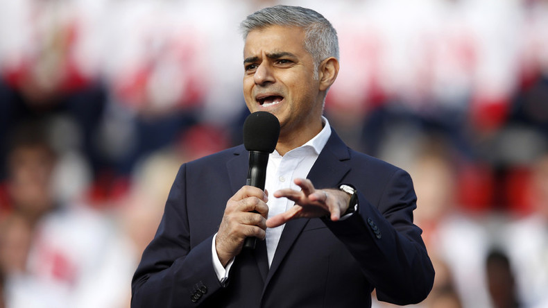 London Mayor Sadiq Khan takes swipe at Donald Trump, vows to 'build bridges, not walls'