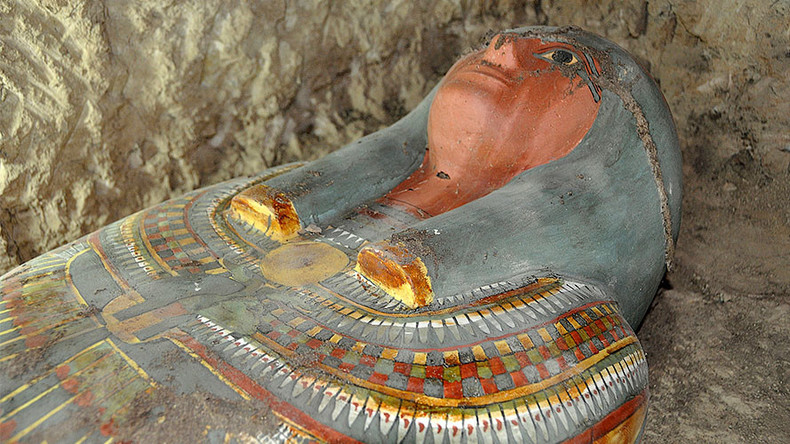Colorful 3,000yo mummy discovered 'in very good condition'