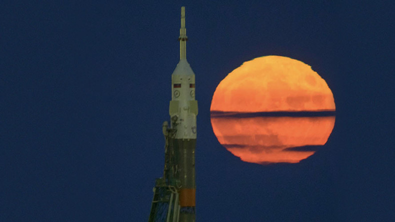 ISS share sensational photos of rare supermoon