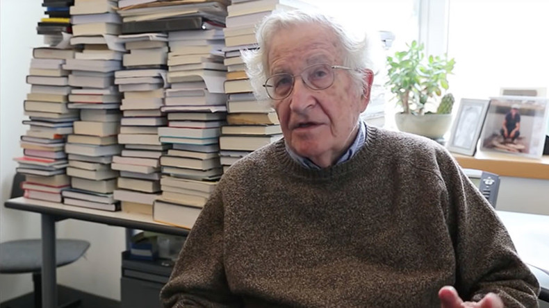 Noam Chomsky discusses Trump victory he predicted 6 years ago