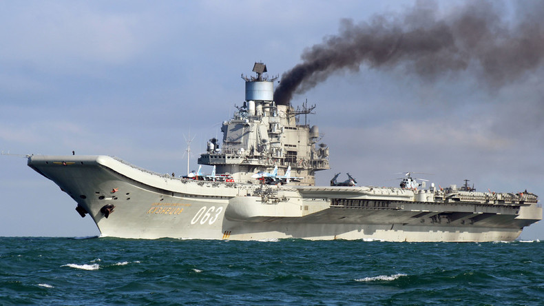'Kuznetsov carrier in Syria is quantum jump in Russian military capabilities'
