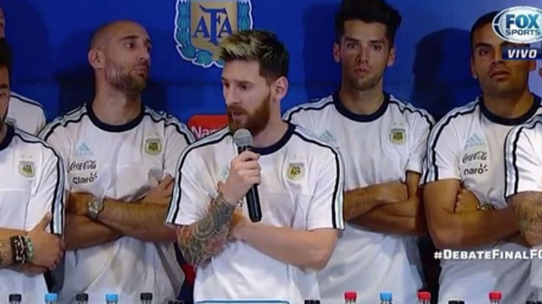 'We have no other choice': Messi leads Argentina media boycott over Lavezzi drug claims
