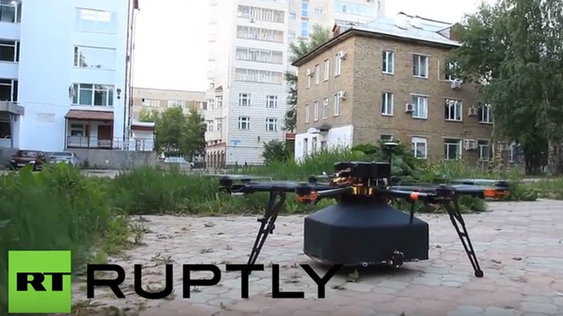 Russians already got slice of the action: Turns out Domino's not 1st to use pizza delivery drones