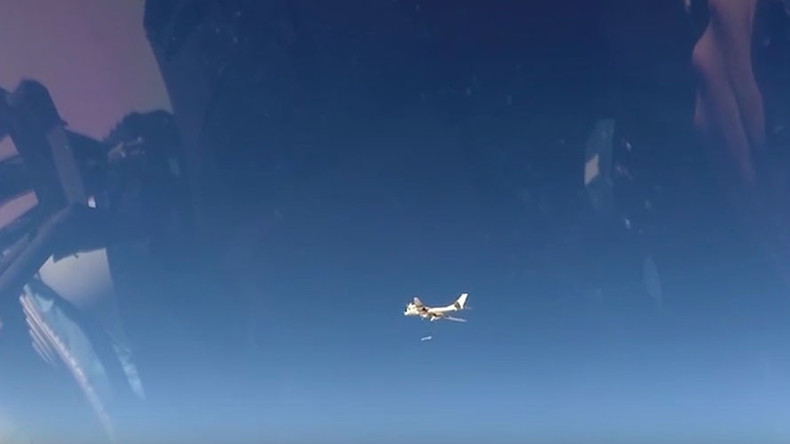 Russian strategic bombers strike ISIS & Al-Nusra in Syria with cruise missiles (VIDEO)