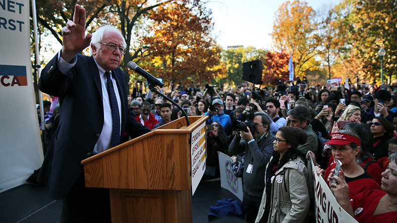 Trump recognized millions of Americans live in despair, Democrats did not - Sanders