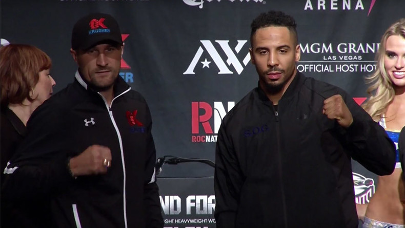 Kovalev & Ward face-off for final press conference before multi-million dollar matchup