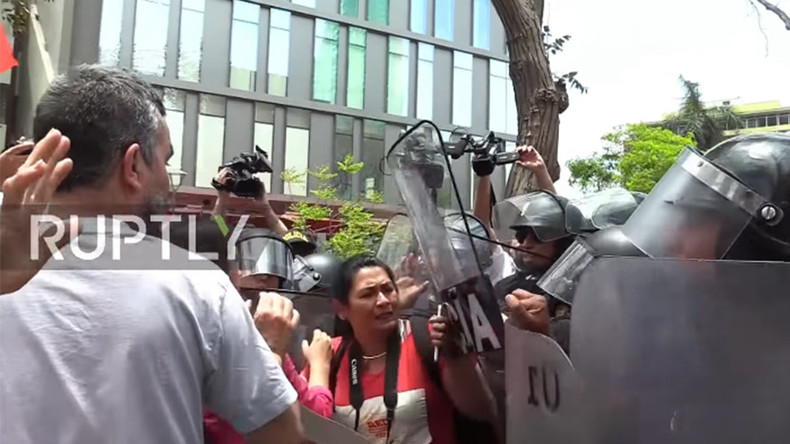 Peruvians protest TPP & Obama visit, clash with police ahead of APEC summit (PHOTOS, VIDEO)