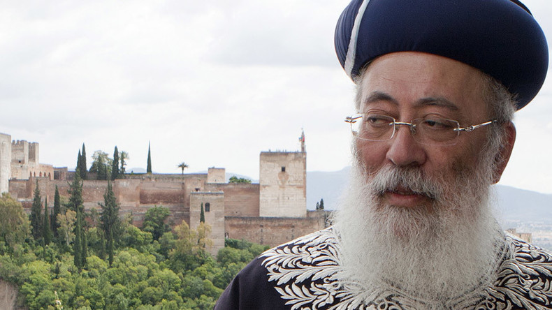 Jerusalem's top rabbi says 'homosexuality punishable by death,' faces backlash