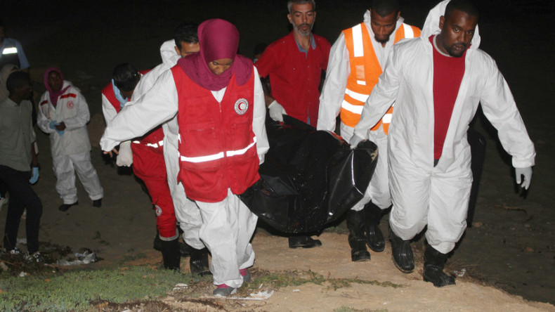 Mediterranean death trap: Record for refugee deaths beaten by 1,000