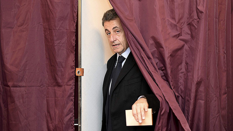 Sarkozy eliminated in 1st round of French center-right presidential primaries – provisional results
