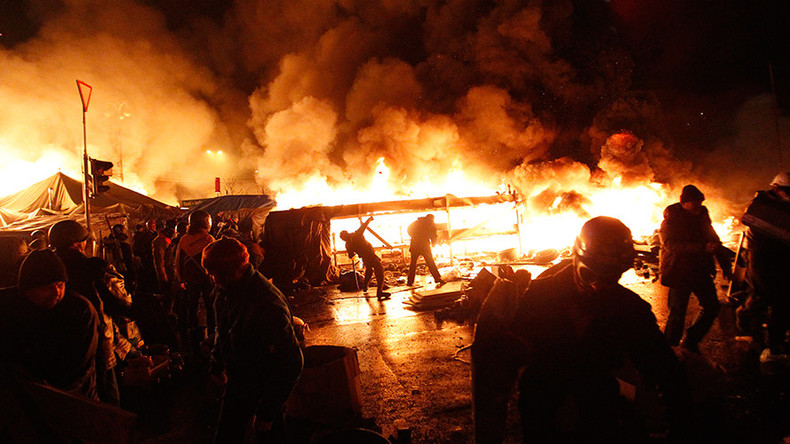 Oliver Stone's film on Ukraine's Maidan coup to be aired in Russia