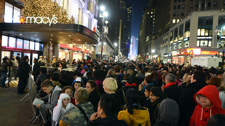 Black Friday in US ain't what it used to be