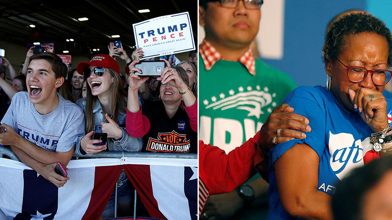 Fear & pride: Post-election poll shows divided America