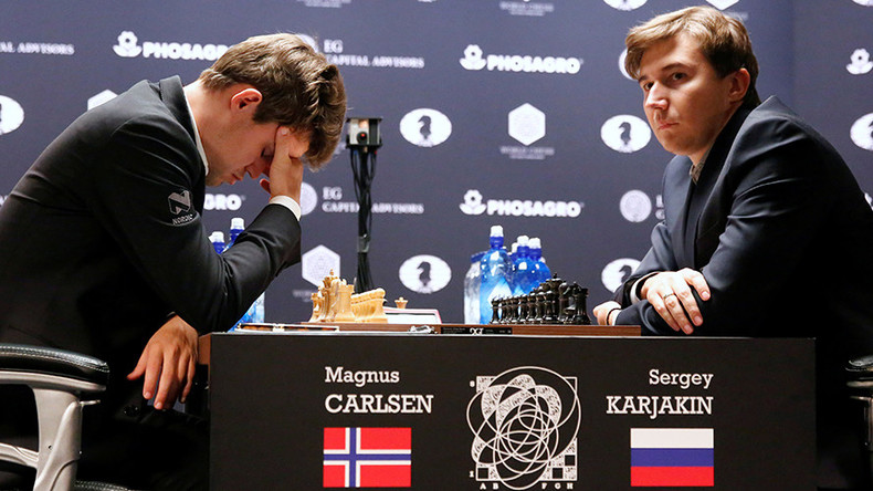 Karjakin causes Carlsen meltdown after Chess World Championship battle
