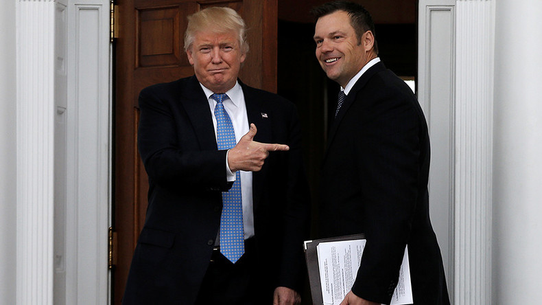 'Zero' Syrian refugees & 'Extreme vetting' of Muslims: Kris Kobach's Homeland Security plan