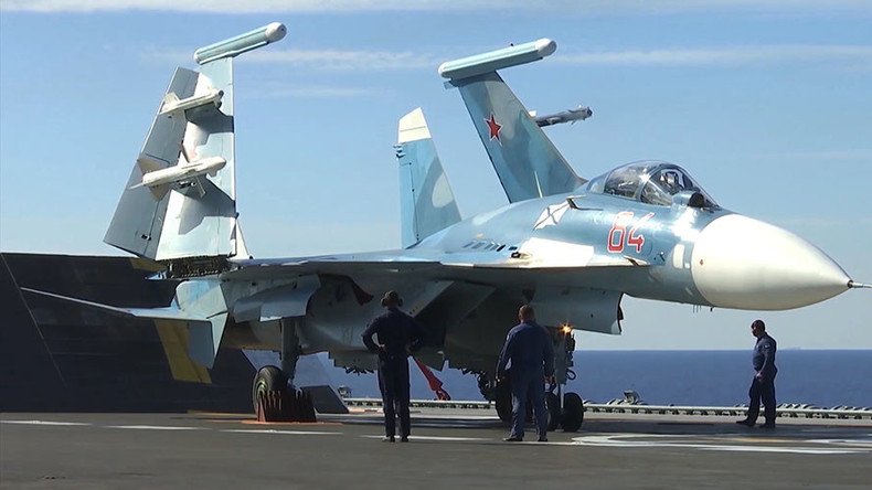 Russian naval aviation to get almost 2 dozen new jets & helicopters by year's end – Navy chief