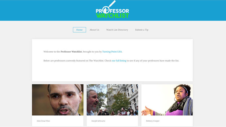 #TrollProfessorWatchlist : Internet hilariously reports 'dangerous' liberal teachers