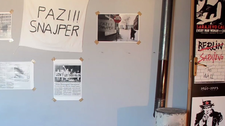 Sarajevo 'War Hostel' immerses tourists in one of Europe's bloodiest sieges (VIDEO)