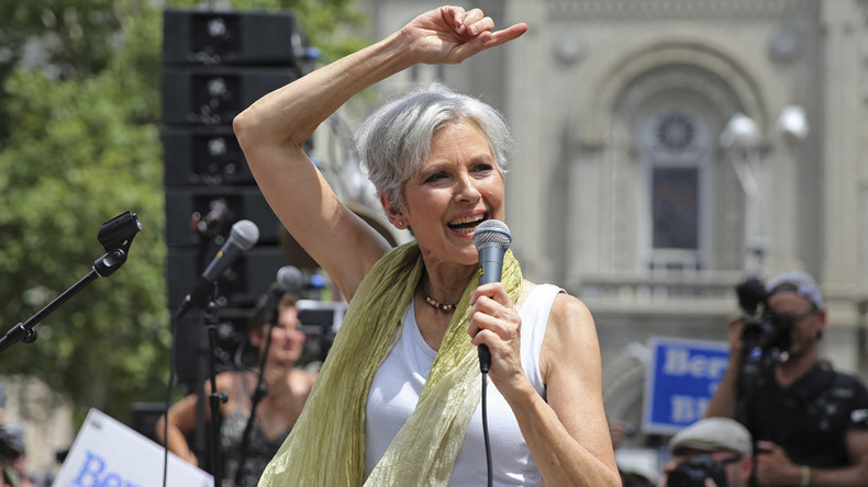 Jill Stein raises $4.5mn for vote recount in swing states