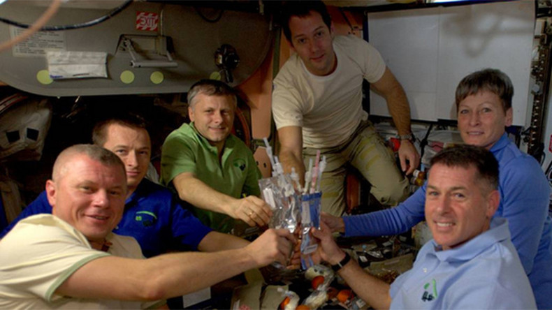 Thanksgiving in orbit: ISS astronauts celebrate US holiday in space (PHOTOS)